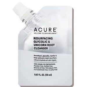 5/$25 Acure Resurfacing Glycolic & U Root Cleanser
